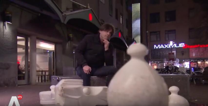 AT5 Oud-drugshandelaar de politiek in: 'Ik wil een leugendetector in de raadszaal' (video).