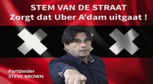 VOOR Taxi's en TEGEN Forum van Democratie: Stem van de Straat zorgt dat Uber A'dam uitgaat!